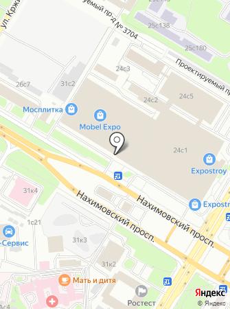 Vesta-TL на карте