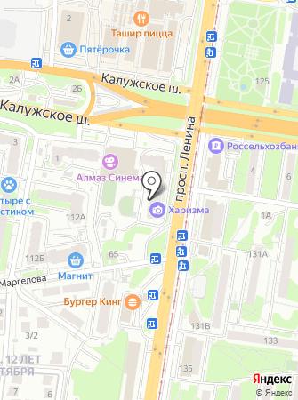Харизма на карте