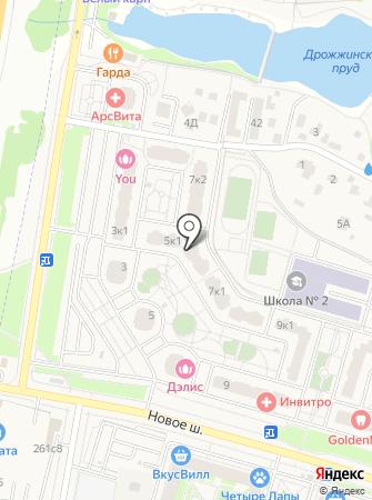 Сундучек на карте