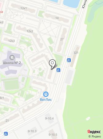 Анниматик на карте