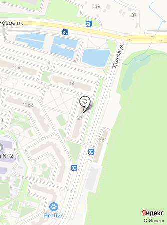 Бутово Парк 2Б на карте