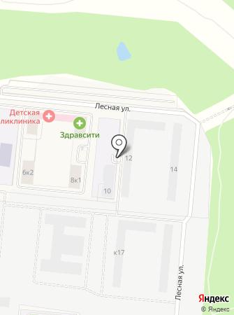 Восточное Бутово на карте