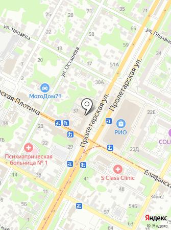 1 МЦ на карте