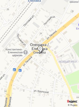 Еленовский отдел ГУМВД Украины в Донецкой области на карте