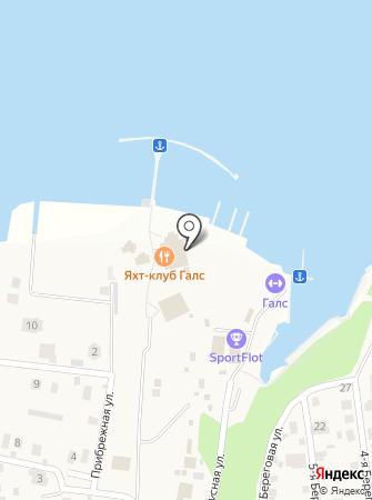 Поместье Галс на карте