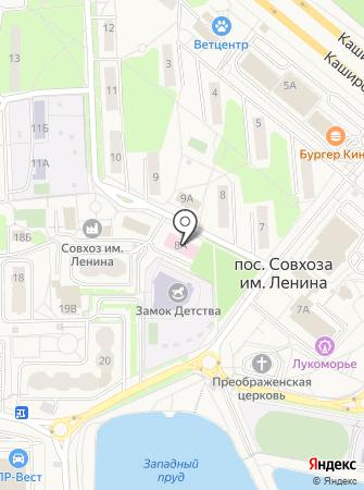 Амбулатория Совхоза им. Ленина на карте