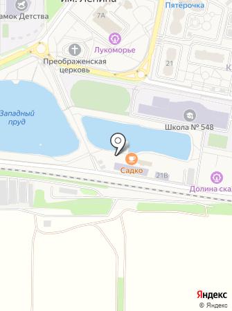 ПРОФИКО-М на карте