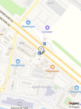 Лада-4 на карте