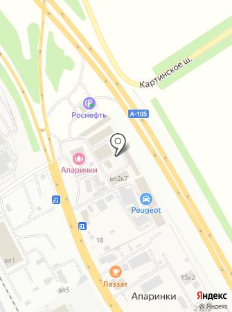 DeLuxAuto на карте