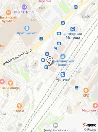 Fix-mix на карте