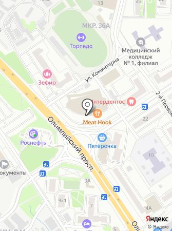 Up-store на карте