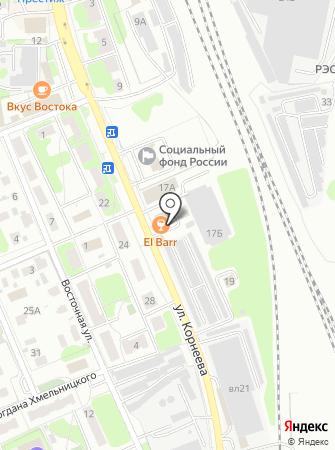 ВИСТ на карте