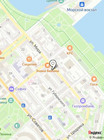 Нотариус Евсеева М.В. на карте