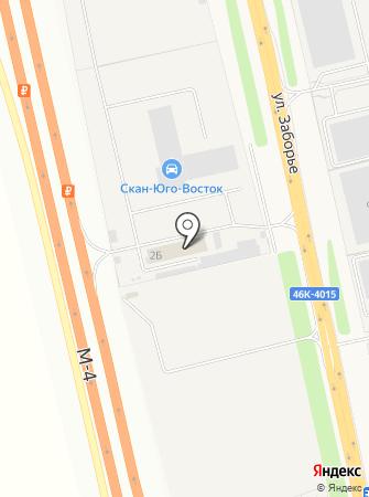 Скан-Юго-Восток на карте