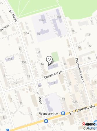 Болоховская основная общеобразовательная школа №3 на карте
