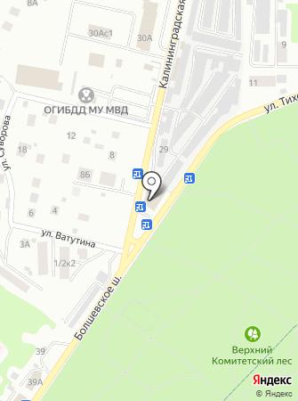 Автомеханик на карте