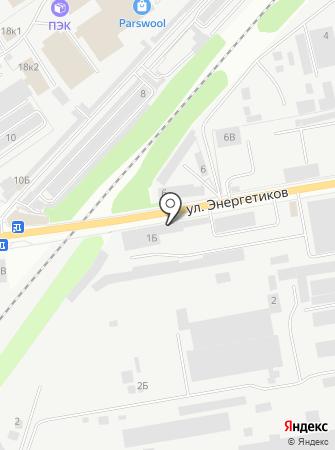 Автоком, ЗАО на карте