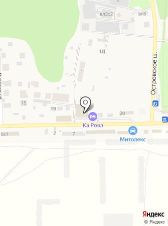 КА Роял на карте