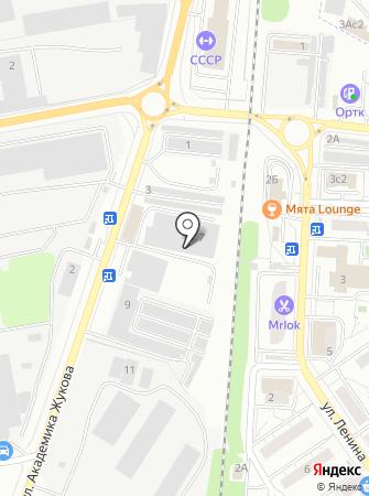 Сет-Сервис на карте