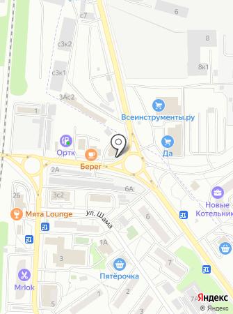 Авиаагрегат на карте