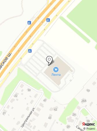 Emex-Пушкино на карте
