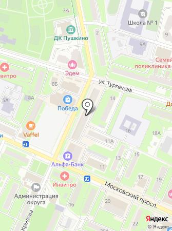 Веста-Ивантеевка на карте