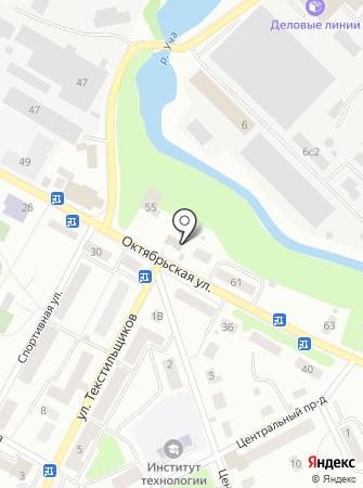 Пушкинский текстиль на карте