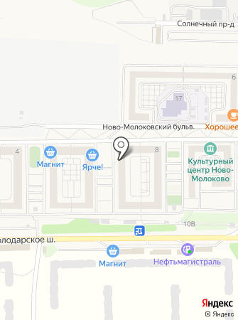 Молоковская участковая больница на карте