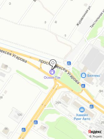 АЗС Оскол-ТЭК на карте