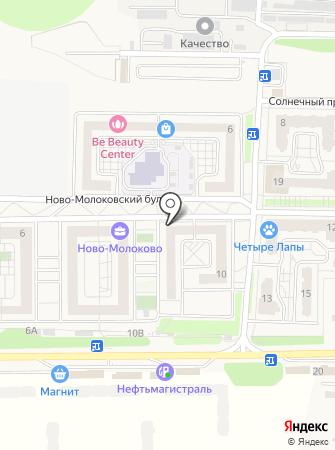 Ново-Молоково на карте