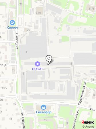 Правдинский опытный завод источников тока на карте