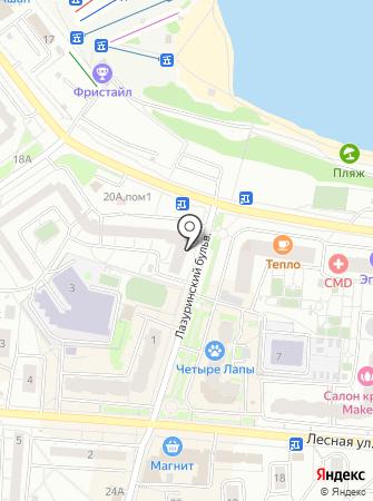 Спецавтоматика на карте