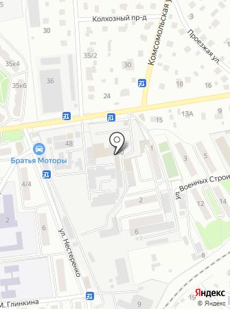 Чистюля на карте
