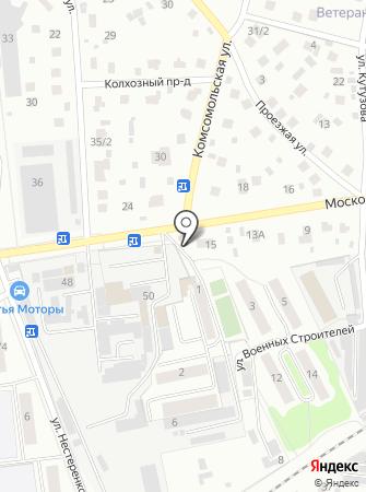 Томск на карте