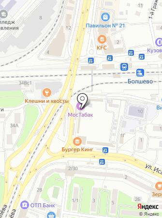 Красная икра на карте