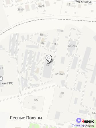 Атланта на карте