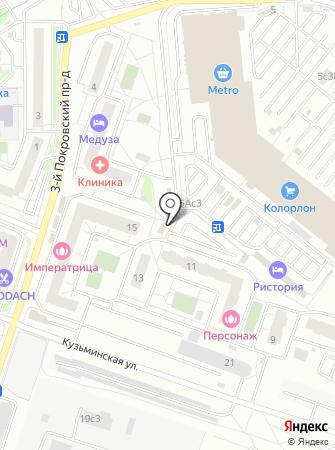 Платежный терминал, КБ Индустриальный Сберегательный Банк на карте