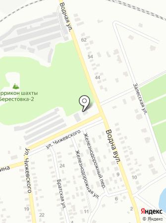 АЗС Интер на карте