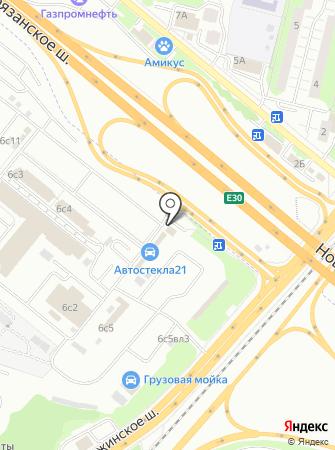 Фьюжн на карте