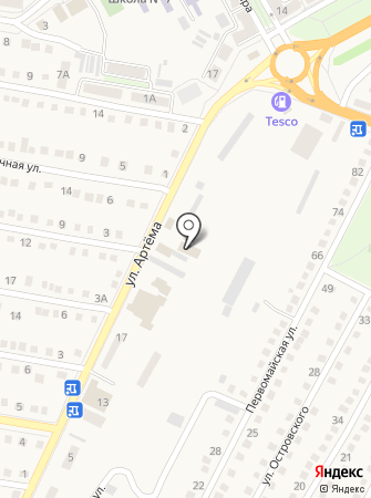 ЦентрАвто на карте