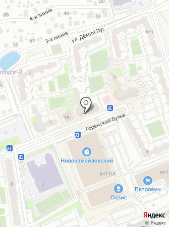 Хинкальная на карте
