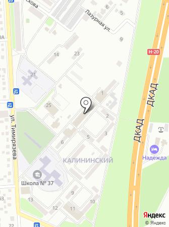 АвтоБлиц на карте