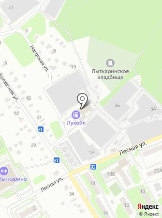 Мегаполис М на карте