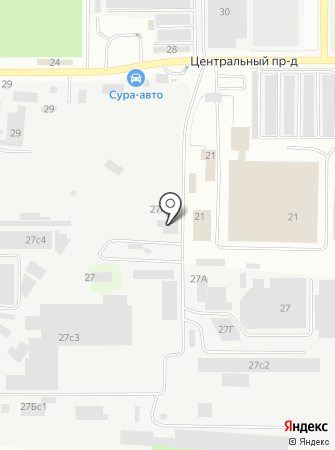 Центртехкомплект на карте