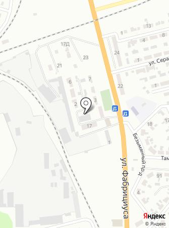 3 ВГСО, Третий военизированный горноспасательный отряд на карте