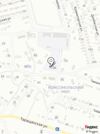 Макеевская автошкола на карте