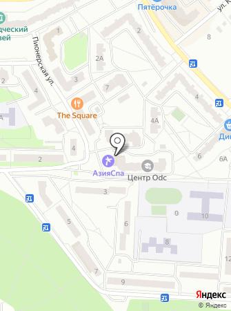 Z-centre на карте