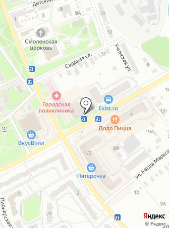 АТМ Автополив на карте