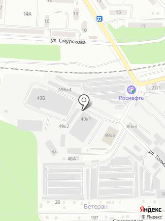 КОМКОР на карте