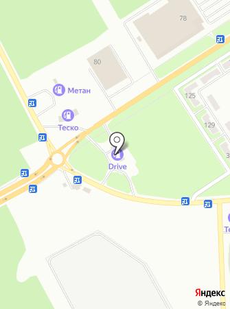 АЗС Формула на карте